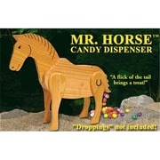 NorthLight Mr. Horse Wooden Candy Dispenser Funny Toy - Poops Candy (GDNC7091)