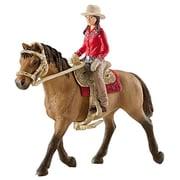 Schleich 42112 Western Rider Figurine, Brown (TRVAL42318)