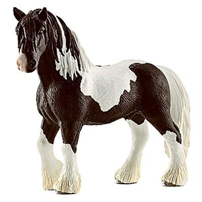 Schleich 13791 Tinker Stallion Figurine, Brown & White (TRVAL42277) 2512488