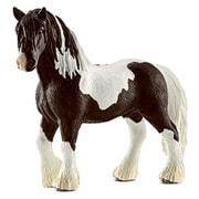 Schleich 13791 Tinker Stallion Figurine, Brown & White (TRVAL42277)