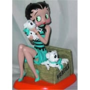 Precious Kids 4.5 Betty Boop Resin Figure with pudgies (PRK019)