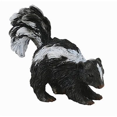 CollectA Skunk - Forest/Woodland Animal Replica - Pack of 12 (IQON172) 2516540