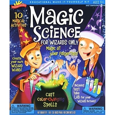 POOF Slinky Magic Science for Wizards Only Kit (BB-TGOL-04)