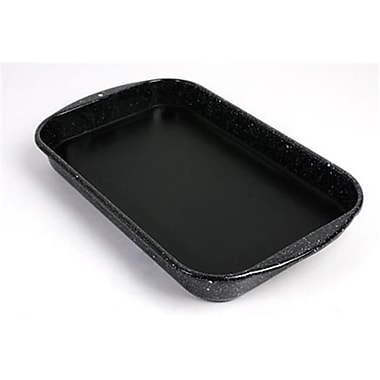 American Educational Dissecting Pan - Enamel with Wax - 15.75 x 9.75 x 2 (AMED4206)