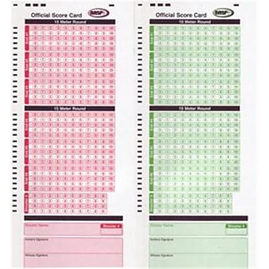 Apperson Print Resources 1C 50 Red 50 Green Score Cards (PPS4763)