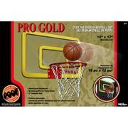 POOF-Slinky Pro Gold Over The Door 18-in. Breakaway Rim Basketball Hoop Set (POOF276)