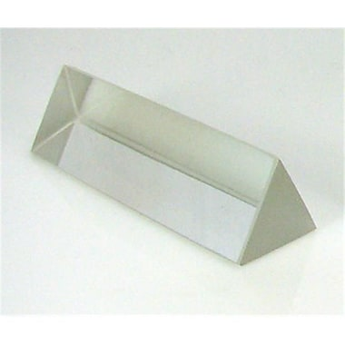 Ginsberg Scientific Prism - Glass - Equilateral - 25mm x 75mm (AMED2414)