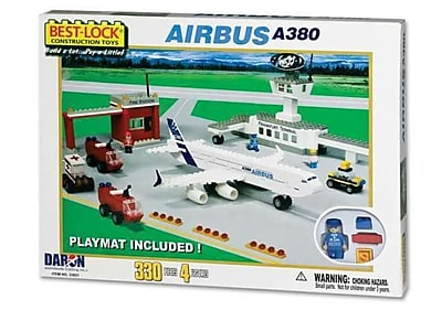 Daron Airbus A380 330 Piece Construction Playset
