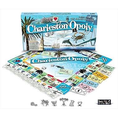 Late for the Sky Charleston-Opoly Board Game (LTSY049)