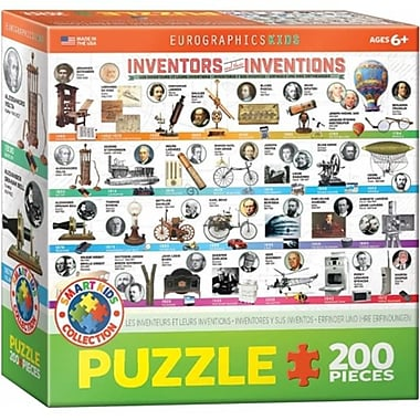Euro Graphics Great Inventions Puzzle (EUGR731)
