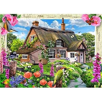 Masterpieces Foxglove Cottage Puzzle - 1000 Piece (RTL236127) 2517344