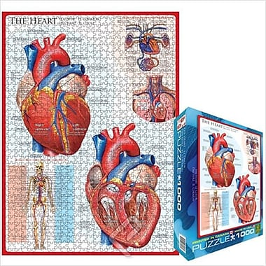 EuroGraphics Puzzles The Heart (EUGR098)