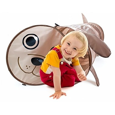 Brybelly 6 Foot Puppy Themed Children's Exploration Pop-Up Tunnel (RTL59237)