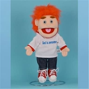 Sunny Toys 14 In. Red-Haired Boy God Is Awesome, Glove Puppet (SNTY058)