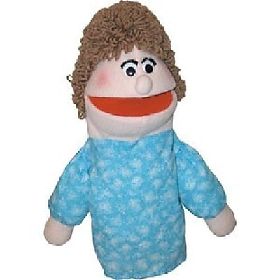 Get Ready Mom puppet- African-American- 18 inch