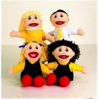Marvel Education Caucasian Family Puppet Set (SSPC66028)