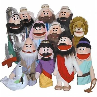 Get Ready Bible Rich Man puppet- 18