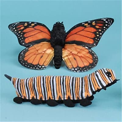 Sunny Toys 12 In. Butterfly Caterpillar, Animal
