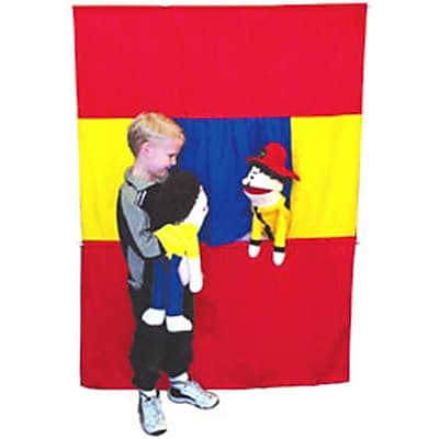 PrestoStage Washable Doorway Puppet Stage (PUPA092)