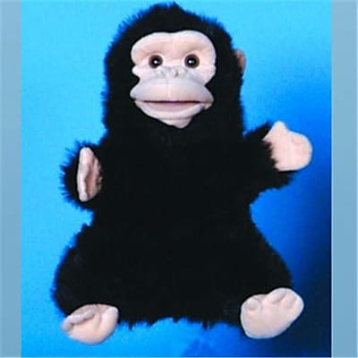 Sunny Toys 12 In. Chimp, Animal Puppet