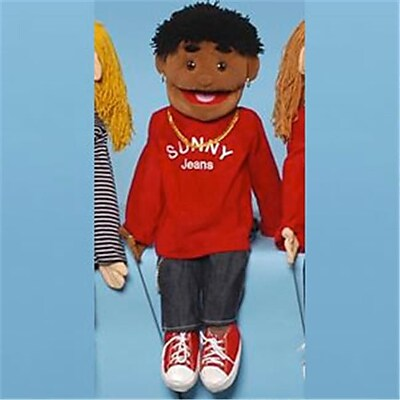 Sunny Toys 28 In. Ethnic Yarn-Haired Boy