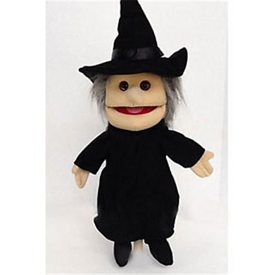 Sunny Toys 14 In. Witch, Glove Puppet