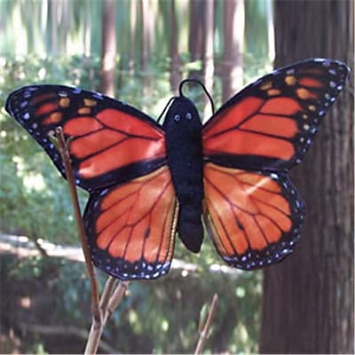 Sunny Toys 8 In. Finger Butterfly Monarch