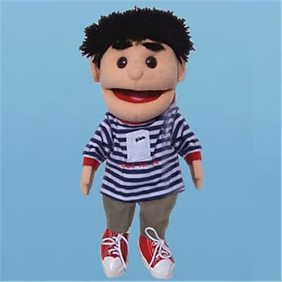 Sunny Toys 14 In. Black-Haired Boy Good
