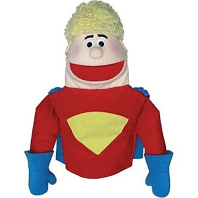 Get Ready hero puppet- Caucasian- 18 inch