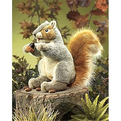 Folkmanis Inc. Fmt2553 Puppet Gray Squirrel (EDRE34674)