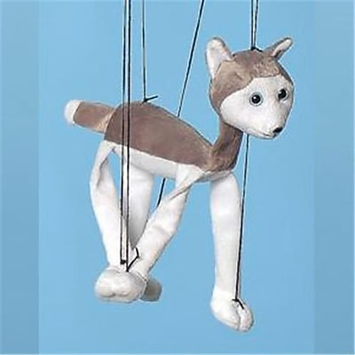 Sunny Toys 16 In. Baby Husky, Marionette