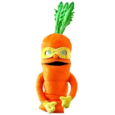 Super Sprowtz 18 in. Colby Carrot Plush