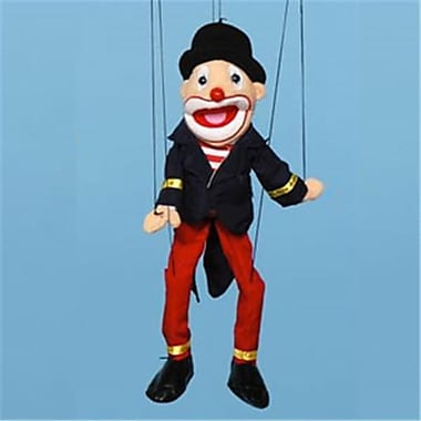 Sunny Toys 22 In. Clown Hat, Marionette People Puppet (SNTY444)