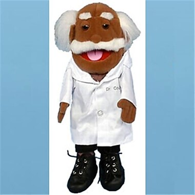 Sunny Toys 14 In. Dr.Coz - Ethnic Grandpa, Glove Puppet (SNTY042)