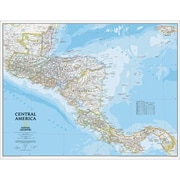 National Geographic Map Of Central America - Laminated (NGS594)