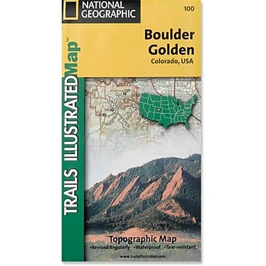National Geographic Map Of Boulder-Golden - Colorado (NGS316)