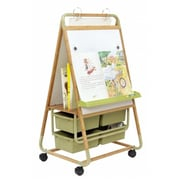 Copernicus Educational Products Double Sided Bamboo Teaching Easel With ECO Tubs (CPRNRTL0553)