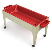 Manta Ray Red Liner Sand And Water Activity Center with Lid And 4 Casters (MNTR017)