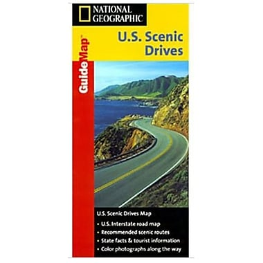 National Geographic Map of Scenic Drives USA (NGS153)