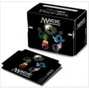 Ultra Pro 86138 Deck Box Mana 4, Symbols With Life Counters (ACDD11910)