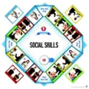 Pci Educational Publishing PrO-Ed Life Skills For Nonreaders Game - Social Skills, 3 Plus Years (SSPC58774)