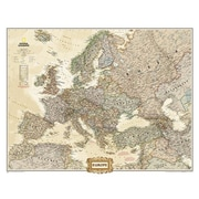 National Geographic Maps Europe Wall Map - Mural (NAGGR298)