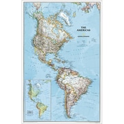 National Geographic Map Of The Americas - Laminated (NGS590)