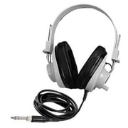 Califone International Deluxe Monaural Headphones With Clip-in Replaceable Straight Cord (CAFI075)