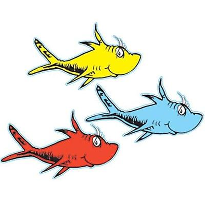 Eureka Eu-841218 Dr Seuss One Fish Two Fish Paper (EDRE34602)