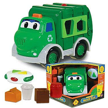 The Learning Journey Remote Control Shape Sorter-Go Green Recycle Truck (LJI257)