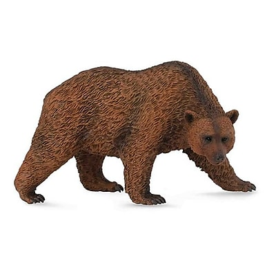 CollectA Kodiak Brown Bear Wild Animal Figurine New Replica - Pack of 6 (IQON260) 2516849