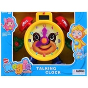 AZ IMPORT & TRADING Tell The Time'' Electronic Learning Teach Time Clock Educational Toy for Kids LTC75E( AZIMT468)