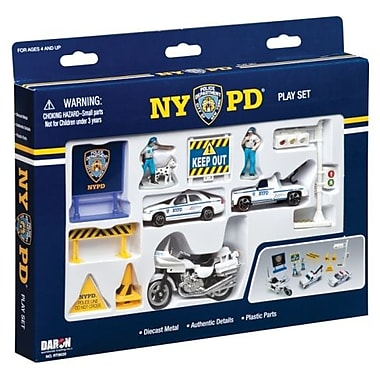 Daron Worldwide Trading NYPD 14 Piece Playset (DARON4162)
