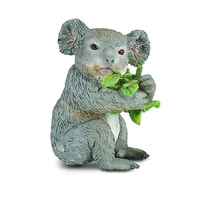 CollectA Koala Bear Eating - Realistic Australian Wildlife Animal Toy - Pack of 6 (IQON155) 2513701